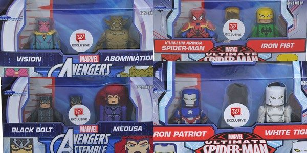 Marvel Animated Minimates Series 5 has arrived in Walgreens stores!  It's the latest assortment in the exclusive mini-figure line only available at Walgreens, and now Diamond Select Toys is ready […]