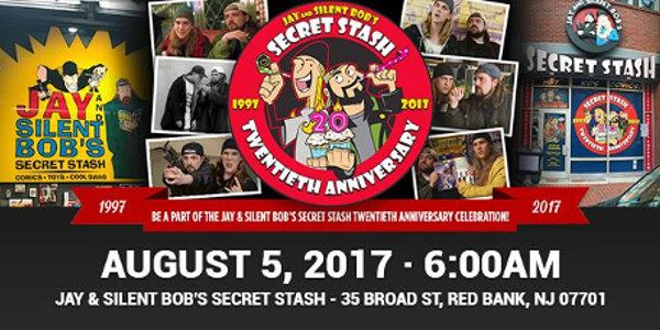 """""""Stash Bash"""" Filling the Streets with Cosplayers Filmed for """"Comic Book Men"""" on AMC This Saturday, famed comic shop """"Jay and Silent Bob's Secret Stash"""" is celebrating its 20th Anniversary […]"""