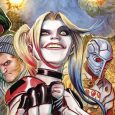 Harley Quinn saves the day, again and again, this issue, she really is living up to her role as team leader!