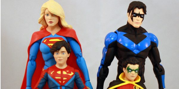 DC Icons spotlights heroic family legacies. For this wave of DC Icons, we get family members from both the Superman and Batman side. Supergirl, Nightwing, Robin and  Superboy.  First up are […]