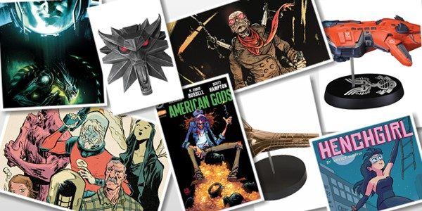 DARK HORSE COMICS NYCC 2017 BOOTH #1636 Dark Horse is proud to announce its selection of exclusive merchandise available at New York Comic Con 2017. From amazing collectibles to variant […]