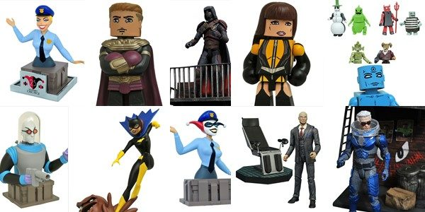 It's a DC-tastic week at comic shops, as Diamond Select Toys ships items from Gotham, Watchmen, Wonder Woman and Batman: The Animated Series! Plus, there's a new assortment of Nightmare […]