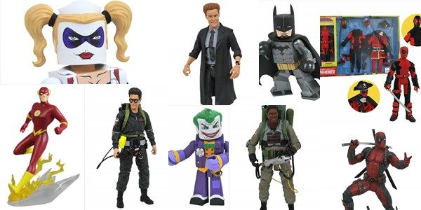 Halloween is on the horizon, and the October issue of Previews is rolling out the frights, with scary-good upcoming items from Diamond Select Toys! Vinyl figures straight out of an […]