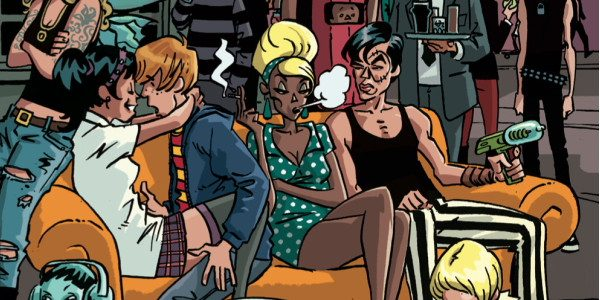 The first issue of Black Crown Quarterly, from IDW, is certainly a mixed bag: part Previews, part Punk, part uh… indie with a twist of nostalgia for better times in […]