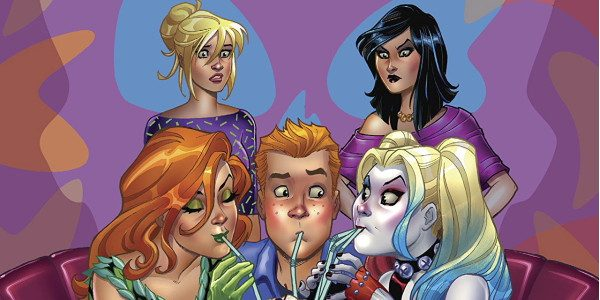 The title of this $3.99 Archie/DC comic really says it all; Harley and Ivy meet Betty and Veronica. Well, actually they don't meet them. Not yet, but soon. You see, […]
