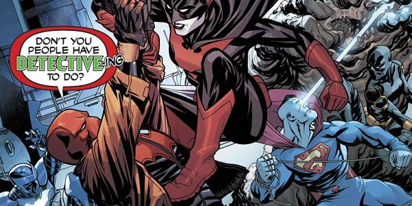 Is it all fallen apart for the Outlaws or is this all part of smart Bizarros plan? Batwing and his team are onto the Outlaws not that they are doing […]