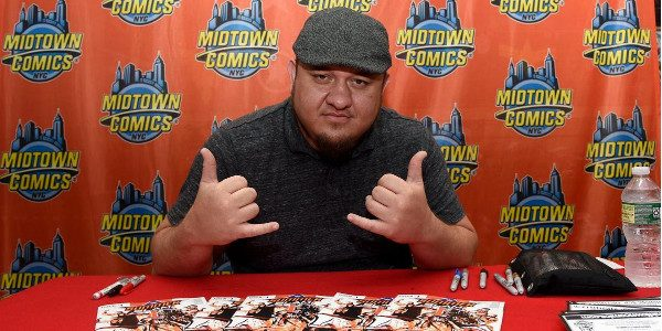 BOOM! Studios and WWE today announced that January'sWWE #13will feature theWWEcomic book writing debut of WWE Superstar Samoa Joe in a story co-written by Michael Kingston (Headlocked) and illustrated by […]