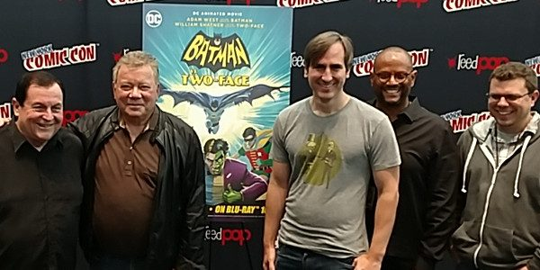 This weekend at New York Comic Con, Warner Bros Home Entertainment brought in the cast and crew of the new animated feature Batman vs. Two-Face Director Rick Morales William Shatner […]