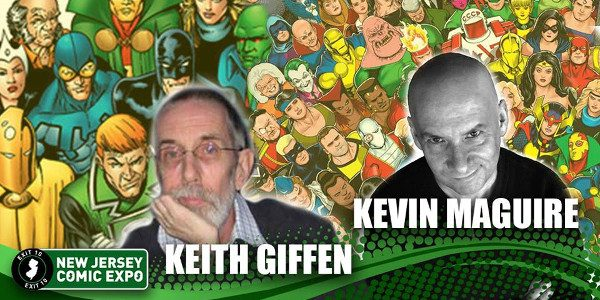 Keith Giffen and Kevin Maguire – one of the best-loved and most-celebrated creative teams in JUSTICE LEAGUE history – come to New Jersey Comic Expo November 18 and 19, right […]