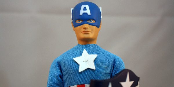 The Super Solider gets another Mego treatment. ThinkGeek got an exclusive Retro set and it's the one and only Captain America. Of course, I had to have this for my […]