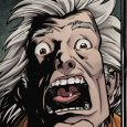 IDW Comics brings you the fourth volume of Back to the Future which shows that these two crazed time traveling nuts are screaming in agony on the front cover.
