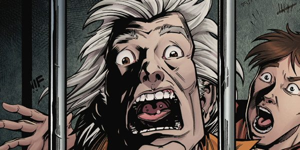 IDW Comics brings you the fourth volume of Back to the Future which shows that these two crazed time traveling nuts are screaming in agony on the front cover. The […]