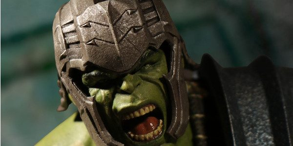 In Marvel Studios' Thor: Ragnarok, Hulk finds himself stranded on the planet Sakaar. Celebrated as an undefeated hero in their Coliseum, he spends two years without changing back into Dr. […]