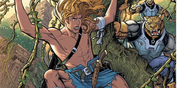 The Kamandi Challenge #11 starts things off right, with a fantastic Nick Bradshaw cover! Bradshaw, who has drawn for Marvel and DC, exhibits a highly detailed inking style that really […]