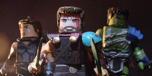 The highly anticipated motion picture Marvel's Thor: Ragnarok is a box-office smash, and you can collect most of the film's stellar cast in a new assortment of Marvel Minimates from […]