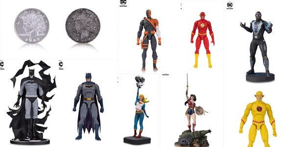 New DCTV Statue Featuring Actor Cress Williams as Black Lightning Will Debut Alongside New DC Gallery: Two-Face Coin Replica, DC Essentials Action Figures and More! DC Collectibles' electrifying July 2018 […]