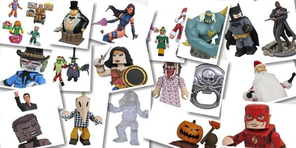 It's a Vinimates invasion! This week a vendetta of Vinimates is headed to your local comic shop, courtesy of Diamond Select Toys! From Justice League to Beetlejuice, from Predator to […]