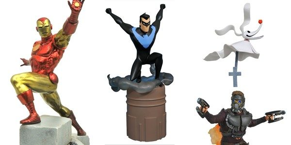 How big is your Gallery? Well, it's about to get a lot bigger, as three new Gallery PVC dioramas and one Premier Collection statue are hitting comic shops this week! […]