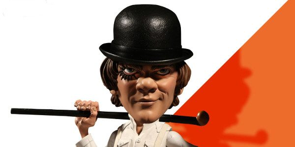 A Clockwork Orange Stylized 6″ Alex is Here!  Direct from the groundbreaking cult classic A Clockwork Orange is Alex, leader of the Droogs.    The latest character addition to Mezco's signature super-deformed […]