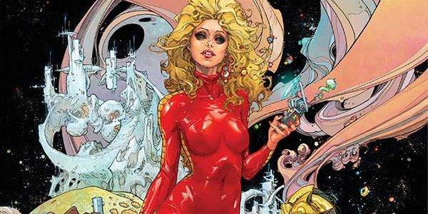 "Barbarella #1, from Dynamite, explores the contrasts between the beliefs of a quasi-religious society, and the expression of human sexuality. The first issue, Red Hot Gospel, Part One, ""Spoils of […]"
