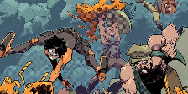 """IDW's new GI Joe title, Scarlett's Strike Force introduces us to the new team. The first issue sets the scene with the cover: it claims to be """"The Best Action […]"""