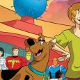 In issue 33 of Scooby Do Team Up, we meet the Legion of Super-Heroes!