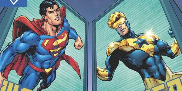 Jurgens continues an epic time-traveling story with the 3rd installment of the Booster Shot arc. Booster Gold and Superman continue to uncover the unsolved mystery of Jor-El's survival of Krypton […]