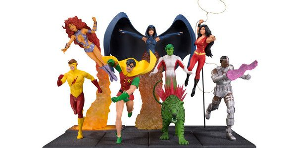 New Highly Detailed, Competitively Priced DC Core Statue Line Will Star The Joker, Batman, Wonder Woman, Batgirl and Many More DC Characters Starfire, Robin, Raven and the Entire New Teen […]