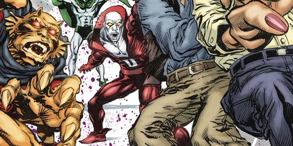 Comic book legend Neal Adams writes and draws upon his vast experience with the new issue of Deadman. Issue 3 of the new six-issue miniseries begins with the front cover, […]
