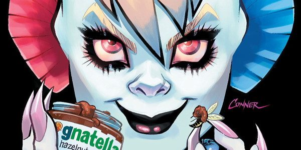 Harley 'The Bat' Quinn is still terrorizing Coney Island with the Gang of Harleys desperately trying to stop her. Another awesome issue as the team attack Harleys problem from all […]