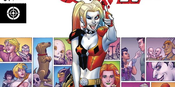 What a heartwarming issue for Connor and Palmiotti's Harley Quinn swansong. Its a fitting end to their run as well with Harley and Ivy by each other side on a […]