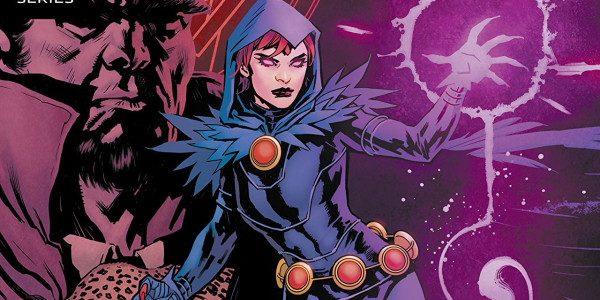 Raven is an awesome character and this issue delves a little deeper into her mindset. She's trying to fit in with her peers and is actually opening up which she […]