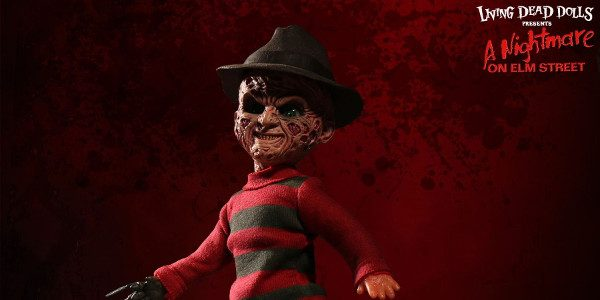 Freddy Krueger returns to the world of The Living Dead Dolls with the first licensed talking Living Dead Doll ever produced. The grotesquely disfigured star of 9 Nightmare On Elm […]
