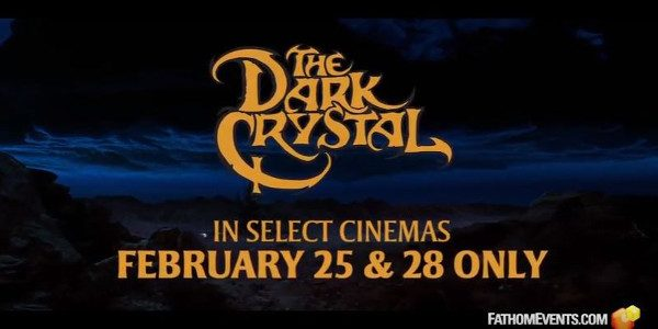 "Fathom Events has released a short, 30-second trailer for its upcoming presentation of ""The Dark Crystal"" The unprecedented vision and mythic storytelling of Jim Henson's 1982 epic fantasy-adventure ""The Dark […]"
