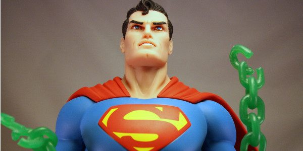 Neal Adam's iconic Superman image becomes an amazing statue. There are some images of Superman that will always be ionic. His first appearance when he's picking up a car and […]
