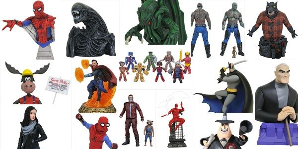 It's a new year, and the year is kicking off in a big way for comic shops, as New Toy Day brings a plethora of new products form Diamond Select […]