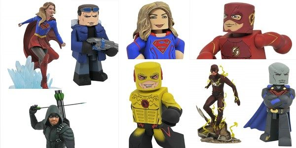 Diamond Select Toys has been capturing the world of DC Comics TV shows in 3-D form for a while now, with action figures and Minimates based on Gotham and iZombie. […]