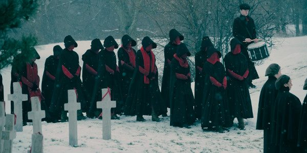 "The Handmaid's Tale season two premieres in April only on Hulu. "" order_by=""sortorder"" order_direction=""ASC"" returns=""included"" maximum_entity_count=""500″] The Emmy-winning drama series returns with a second season shaped by Offred's pregnancy and her […]"