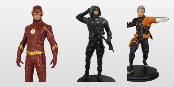 Icon Heroes is pleased to announce 3 new statues in our DC collection: DC Comics Arrow TV Season 5 Statue – Available 3rd Quarter 2018 Standing about 8″ tall, this […]