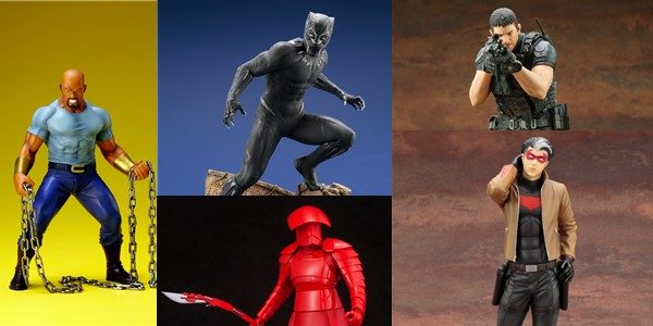 Kotobukiya has collectors covered with leading-edge statues from the hottest properties like The Last Jedi, Resident Evil:Vendetta to the upcoming Black Panther movie. 2018 will surely be a year to […]