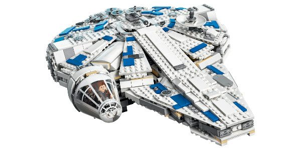 This morning, LEGO unveiled the first LEGO® Star Wars™ building set based on Solo: A Star Wars Story – the Kessel Run Millennium Falcon™. New products inspired by new and […]