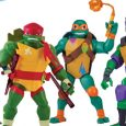 Playmates Toys released images of toys from the new TV show Rise of the Teenage Mutant Ninja Turtles