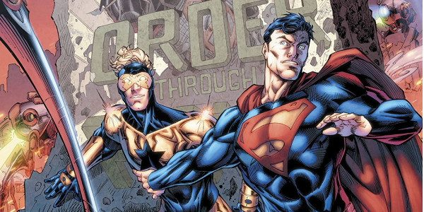 The time-traveling adventure for the truth continues in Booster Shot part 5! Stuck and stranded in a New Krypton in a distant future, Superman and Booster Gold are stacked up […]