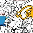 "Publisher and Cartoon Network Announce ""Adventure Time Official Coloring Book"" For July 2018"
