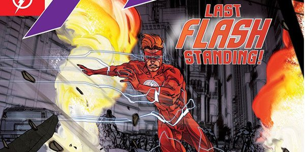 It's Chapter 3 of the Perfect Storm arc as Barry Allen, powerless and desperate to regain his powers through the lightning wand now takes a back seat. Barry leaves Wally […]