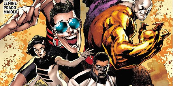 DC's The Terrifics number 1 introduces us to a lot of characters. The story, however, is more of a sidebar. Mr. Terrific, (Michael Holt) drops in to see Mr. Stagg. […]