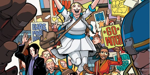 As first revealed today at io9, Valiant is proud to announce that VALIANT HIGH #1 (of 4) – the FIRST ISSUE of AN UPROARIOUS ALL-AGES ESCAPADE from rising star Daniel […]