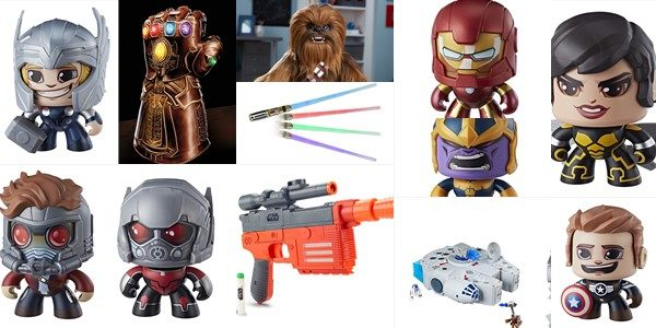 HASBRO is kicking off New York Toy Fair with some exciting reveals from the STAR WARS, MARVEL, and MIGHTY MUGGS brands! STAR WARS ULTIMATE CO-PILOT CHEWIE (Ages 4 years & […]