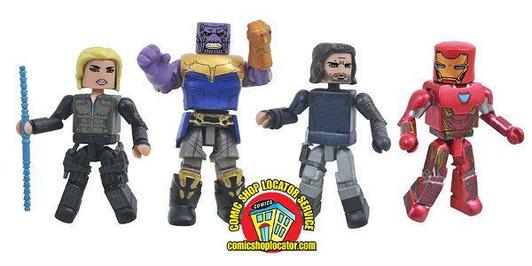 War has arrived! The first Diamond Select Toys products based on Avengers: Infinity War have reached comic shops, with many more on the way! The opening salvo is the Marvel […]