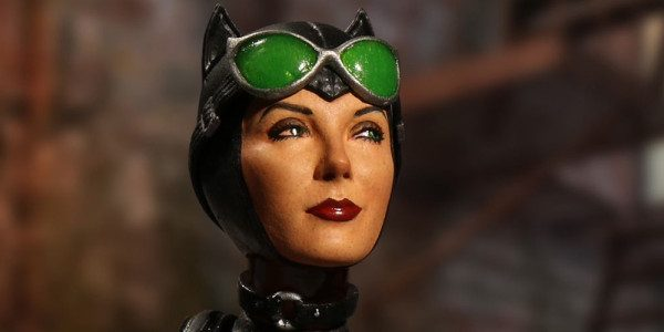 Mezco welcomes Gotham's most notorious cat burglar, Catwoman, into the One:12 collective. The One:12 Collective Catwoman figure flaunts three exquisitely detailed head portraits: a flirty smile, a hissing snarl, and […]